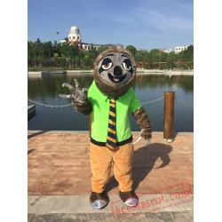 Zootopia Sloth Fox Rabbit Mascot Costume for Adult