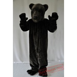 Black Bear Mascot Costume for Adult