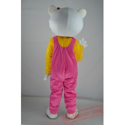 Hellokitty Cat Mascot Costume for Adult
