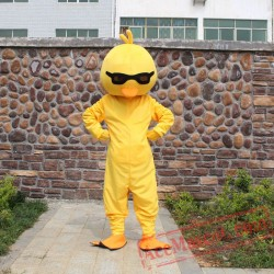 Yellow Duck Mascot Costume for Adult