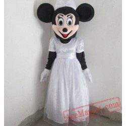 Disney Wedding Minnie Mouse Mascot Costume for Adult
