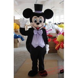 Disney Wedding Mickey Mouse Mascot Costume for Adult