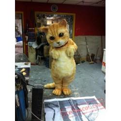 Realistic Cat Mascot Costume for Adult