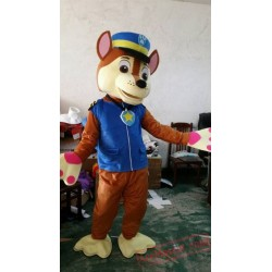 Paw Patrol Chase Dog Cartoon Mascot Costume