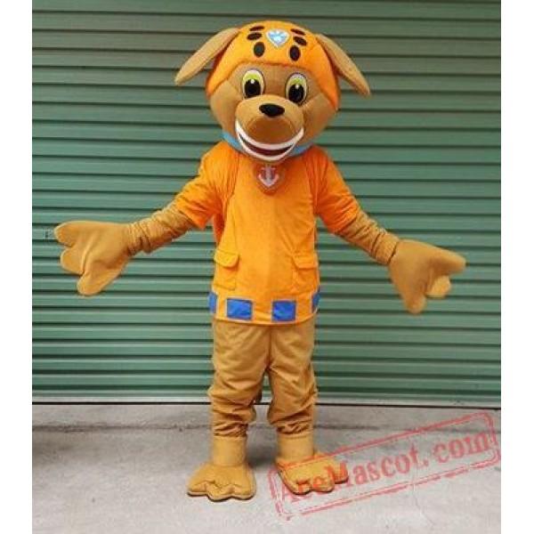 Paw Patrol Chase Dog Cartoon Mascot Costume