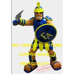 High Quality Spartan Mascot Costume Adult Warrior Knight Costumes