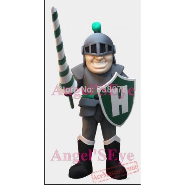 Grey Knight Mascot Costume Spartan Warrior Costumes