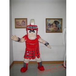 Spartan Knight Trojan Mascot Costume