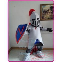 Blue Knight Mascot Spartan Trojan Costume