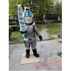 Knight Mascot Lanceer Trojan Mascot Costume