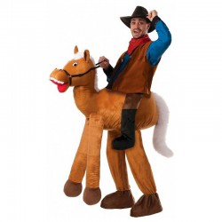 Giant Horse Ride-on Animal Men Costumes Carry Me