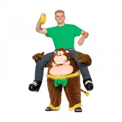 Gorilla Ride-on Mascot Costumes Carry Me