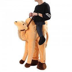 Camel Ride-on Mascot Costumes Carry Me