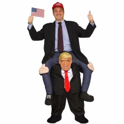 Donald Trump Pants Ride On Mascot Costumes Carry Me