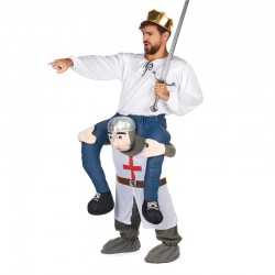 Medieval warrio Ride on Cosplay Costumes Carry Me